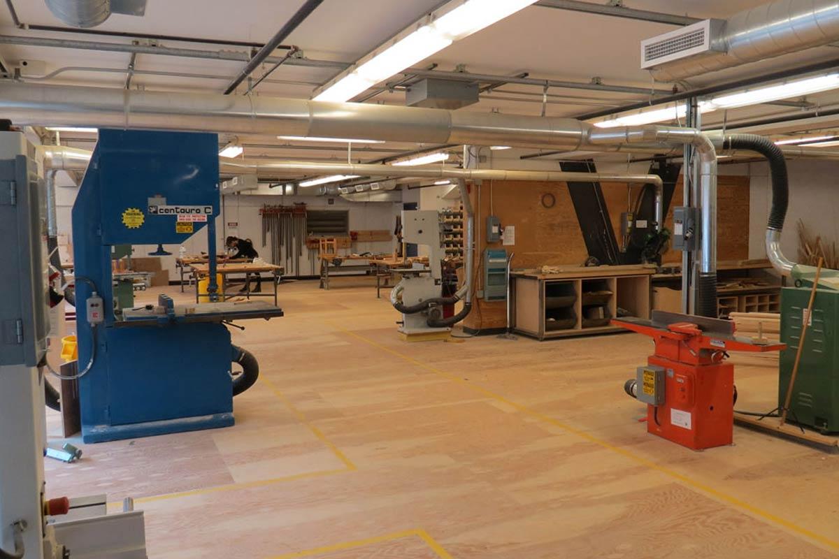 L. L. Odette Centre for Sculpture (Carpentry Shop)