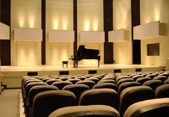 Single Grand Piano on TCRH Stage