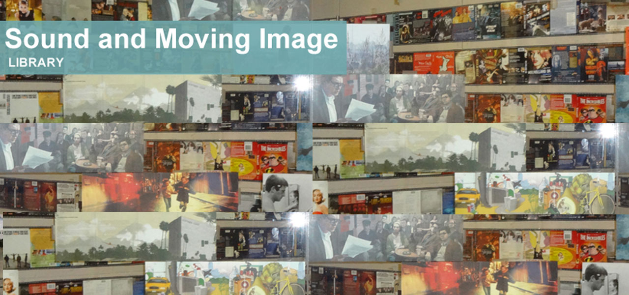 Sound and moving image library banner