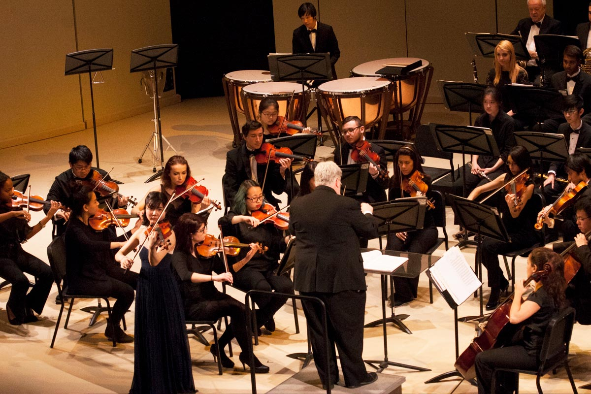 York Symphony Orchestra performs in the Tribute Communities Recital Hall